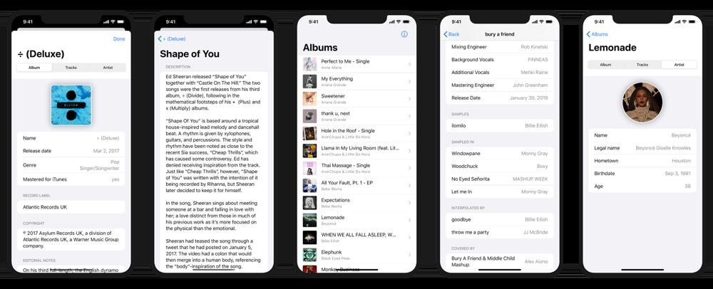 MusicSmart app.