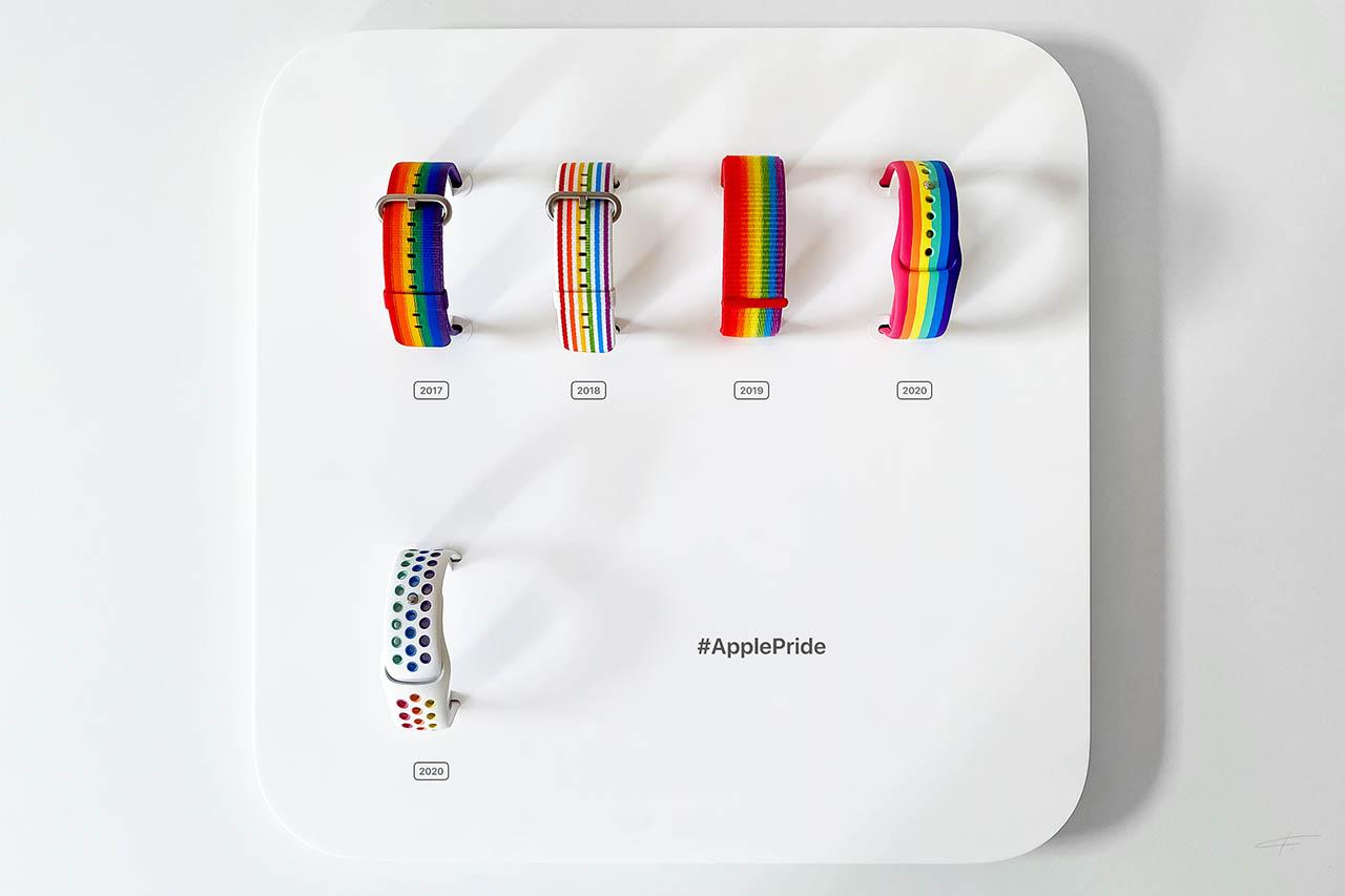 Apple Pride bandjes
