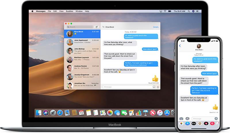 iMessage Catalyst op Mac