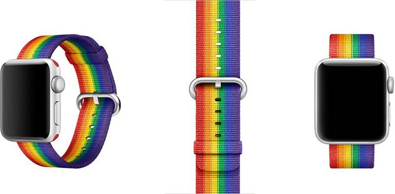 Apple Watch Pride 2017 bandje