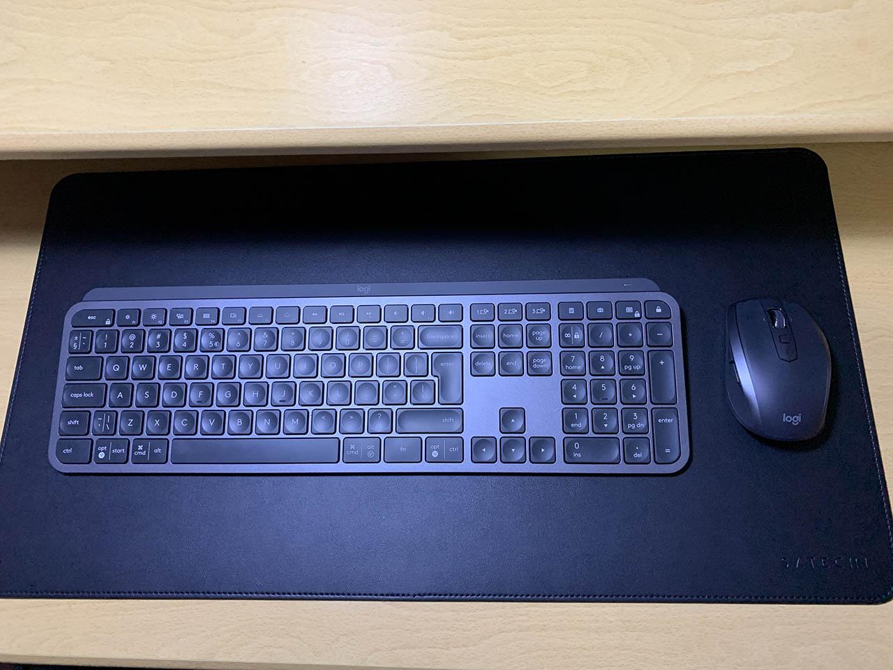 Logitech MX Keys en Logitech MX Anywhere 2S