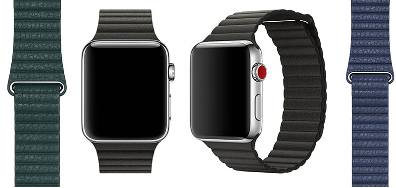 Apple Watch lederen bandje