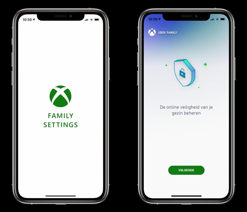 Xbox Family Settings-app instellen.