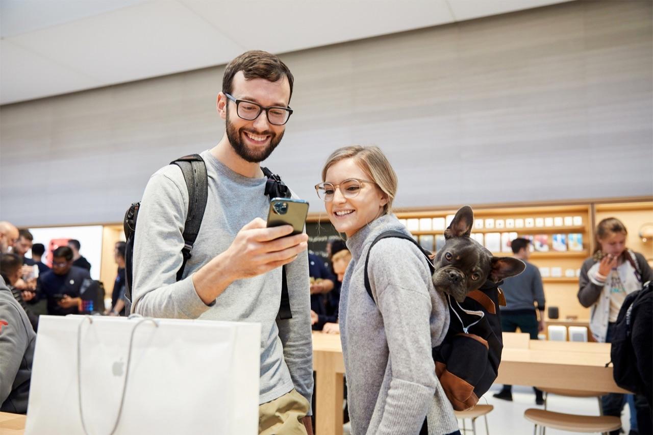 Apple Store iPhone 11 Pro kopen.