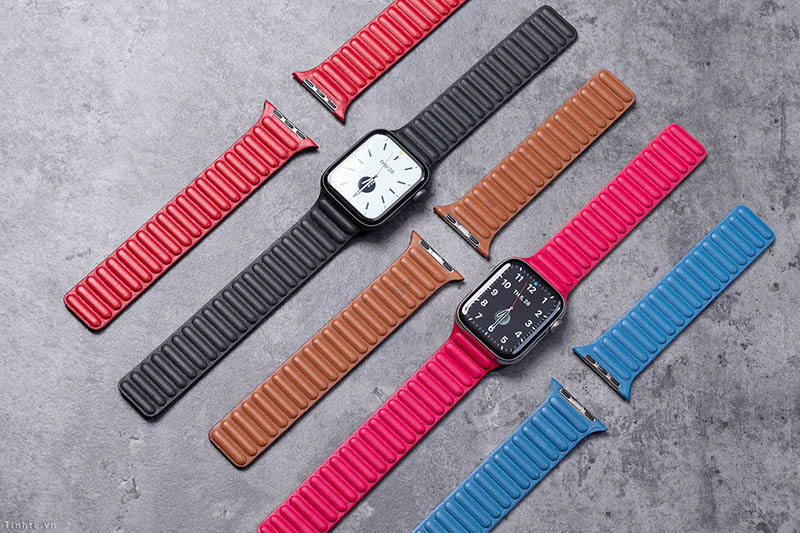 Leren bandje Apple Watch 2020 gelekt