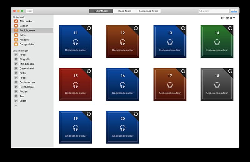Boeken-app audioboeken