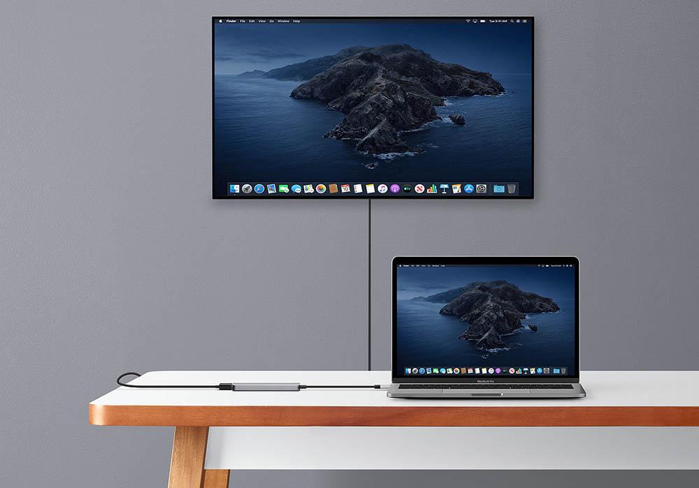Mac aansluiten op televisie