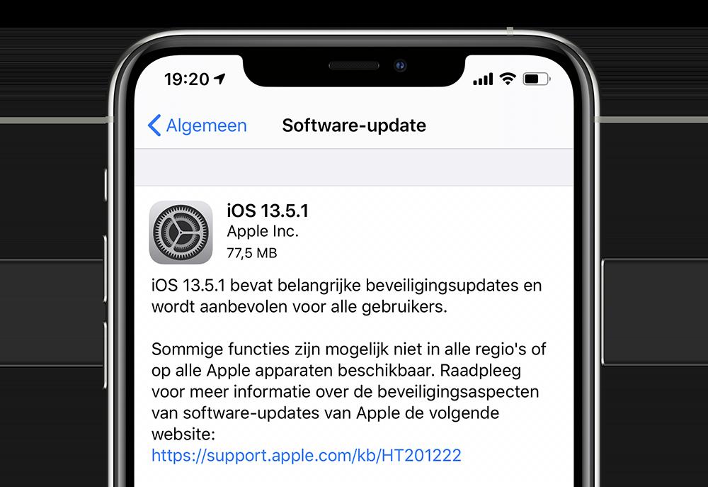 iOS 13.5.1 update