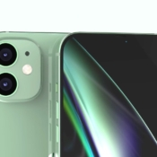 iPhone 12 Max camera in groen.