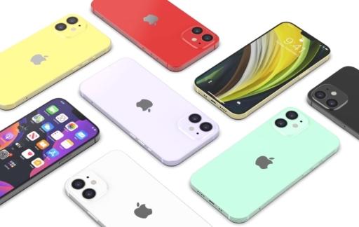iPhone 12 Max kleuren.