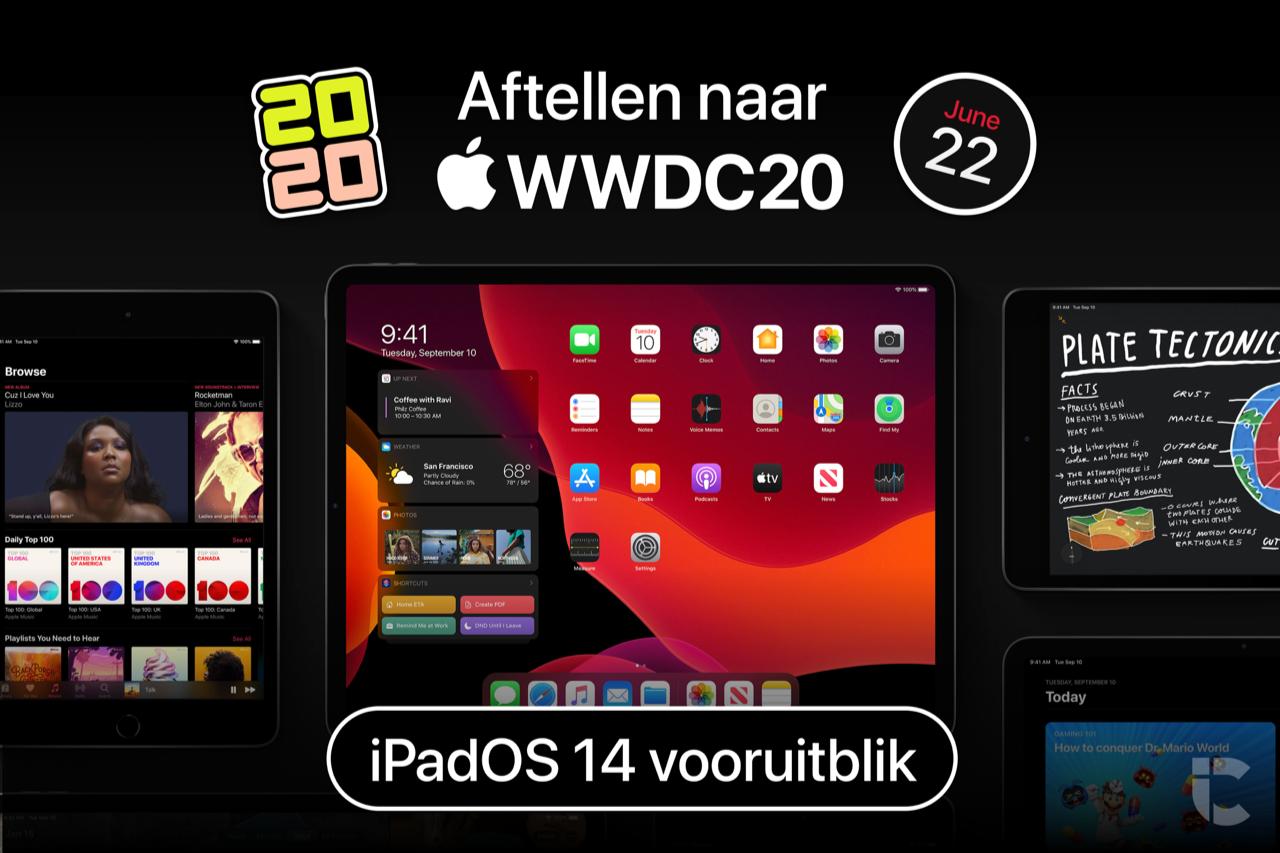Aftellen naar WWDC 2020: vooruitblik op iPadOS 13.