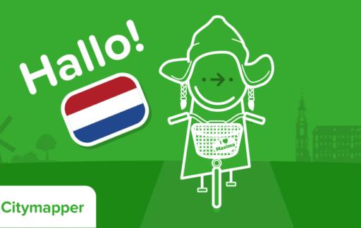 Citymapper in Nederland.