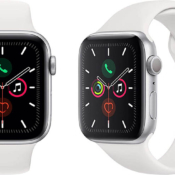 Apple Watch Series 5 wit zilver