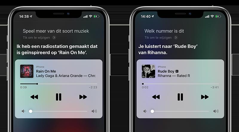 Apple Music bedienen met Siri