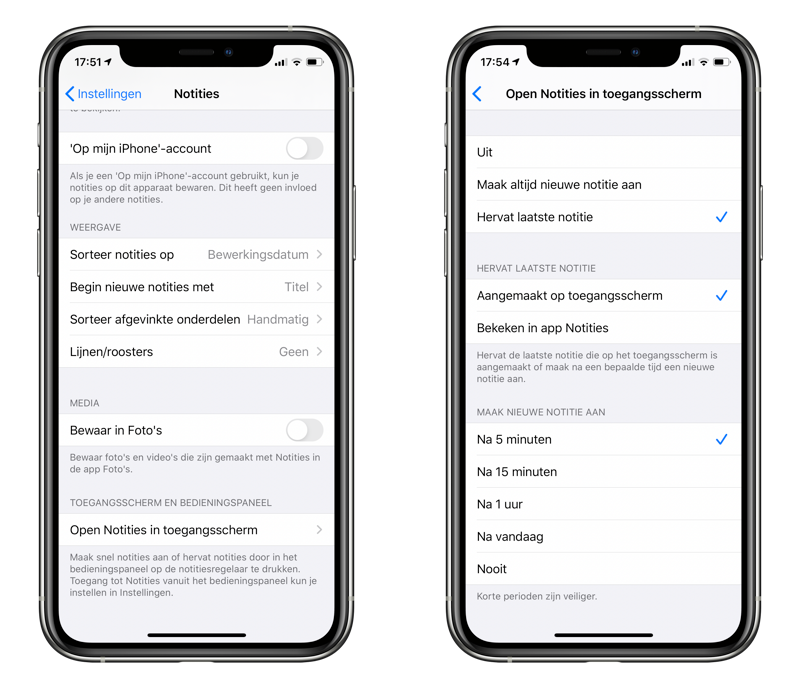 Notities vanaf het toegangsscherm: snel aantekeningen maken op de iPhone.