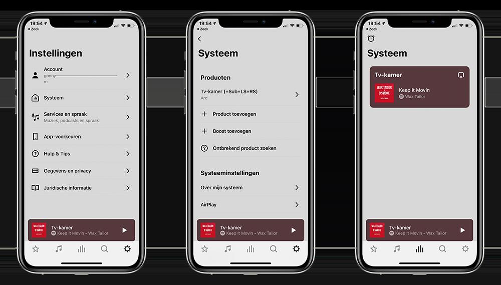Sonos app nieuw