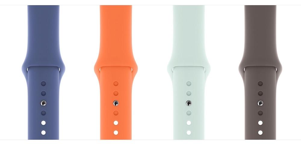 Apple Watch sportbandjes: kleuren voor zomer 2020.