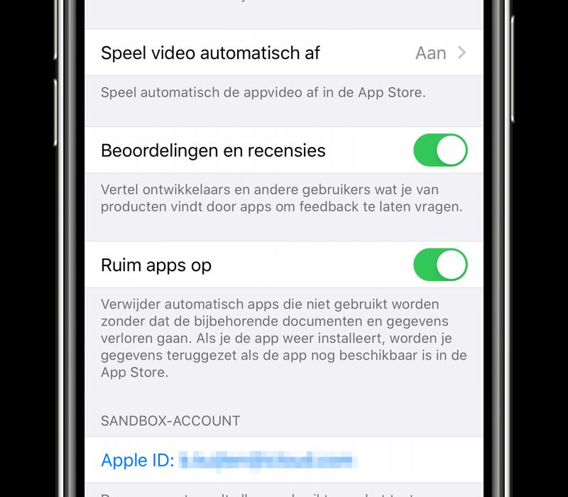 Ruim apps op: automatisch verwijderen.