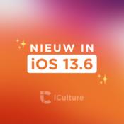 iOS 13.6 nieuwe functies.