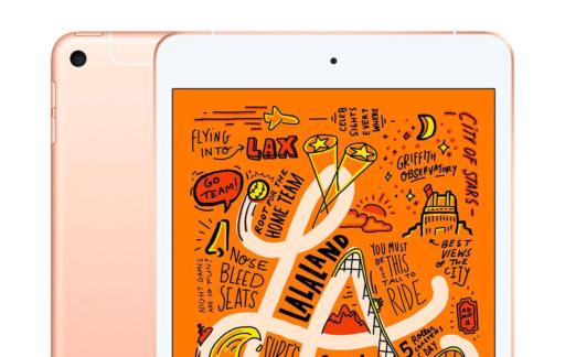 iPad mini goud cellular 2019