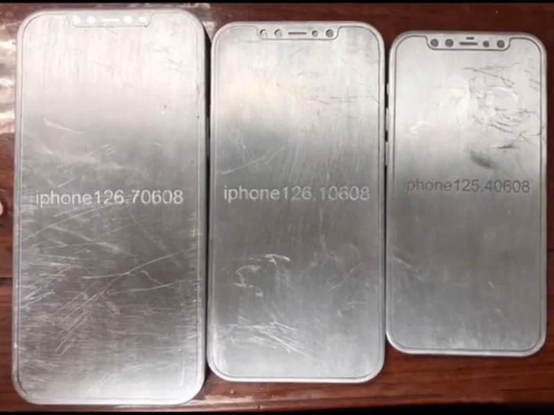 iPhone 12 mallen achterkant