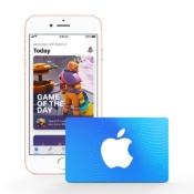 iTunes- en App Store cadeaukaart.