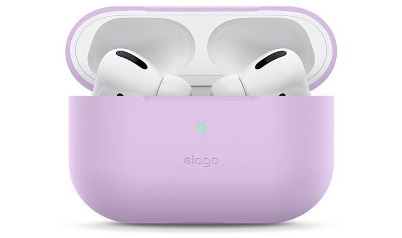 Elago hoesje voor AirPods Pro in lavendel
