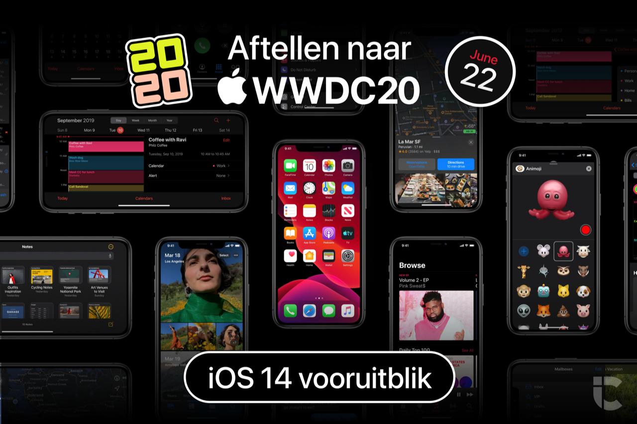 Aftellen naar WWDC 2020: iOS 14 vooruitblik.