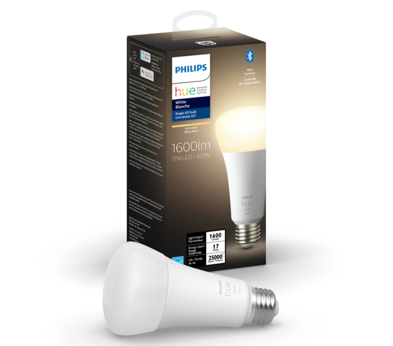 Philips Hue White met 1600 lumen.