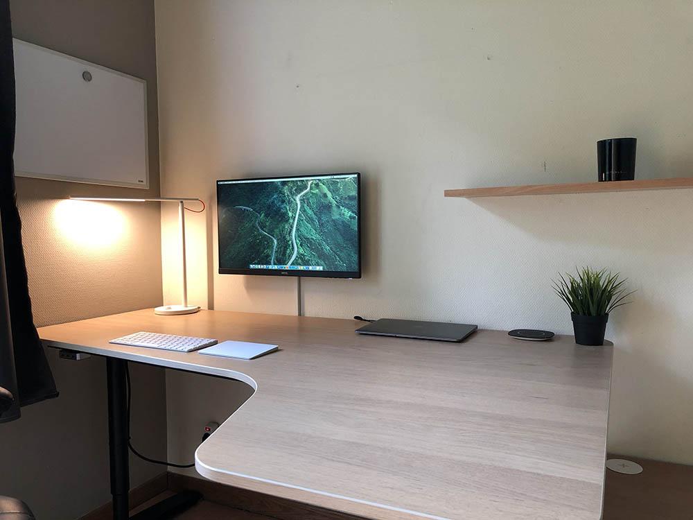 De thuiswerkplek van Seppe Maes