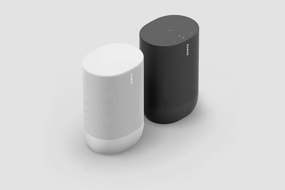 Sonos Move in zwart en wit