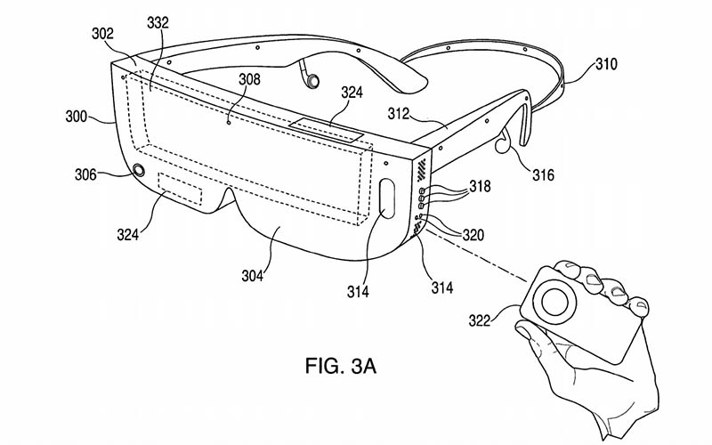 Apple patent met lenzen
