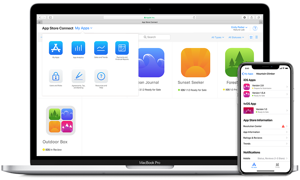App Store Connect 2018