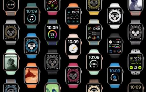 watchOS 7 horloges.