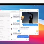 macOS Big Sur Berichten vensters