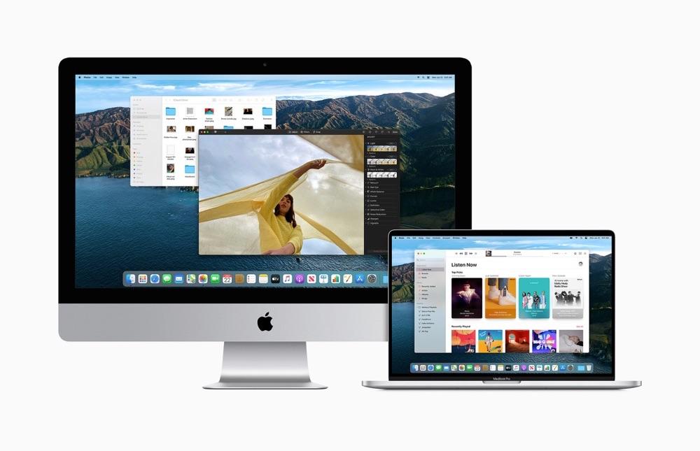 macOS Big Sur iMac en MacBook Pro