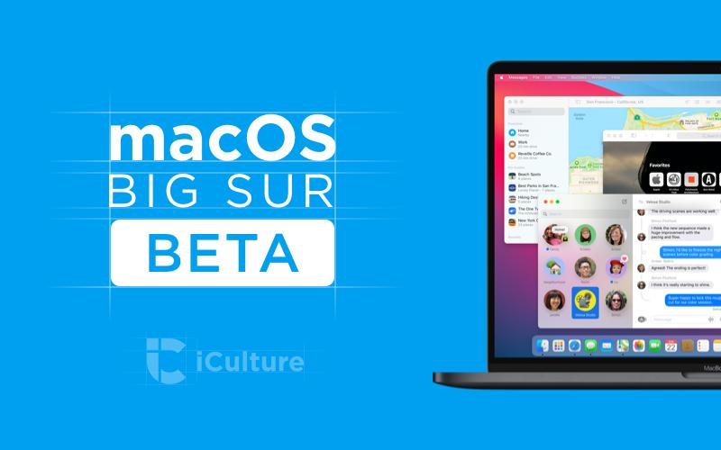 macOS Big Sur beta.