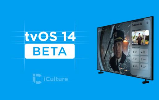 tvOS 14 beta (versie 2).