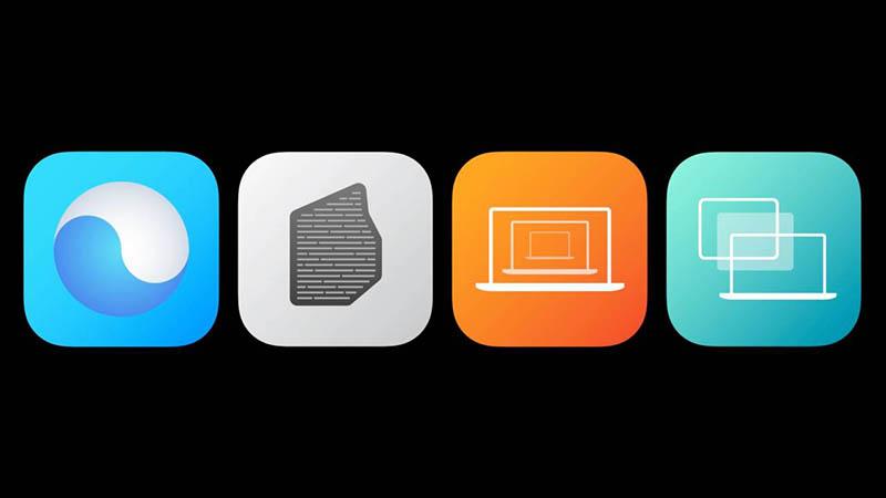 Universele apps Big Sur