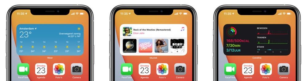 Slimme stapel iOS 14