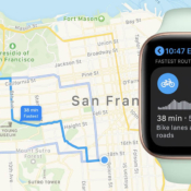 Fietsroutes op Apple Watch