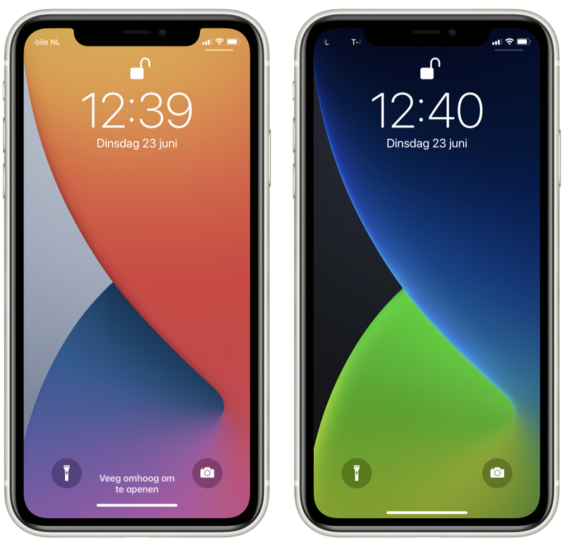 iOS 14 wallpapers.