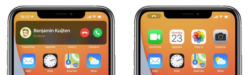Bellen in iOS 14