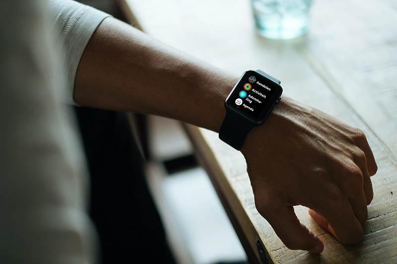 Apple Watch lijstweergave apps