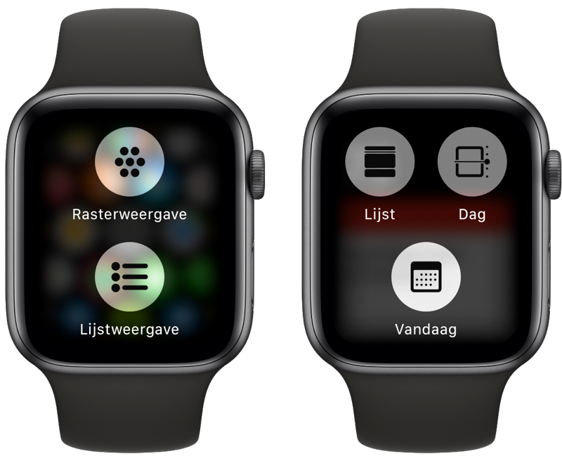 Apple Watch: Force Touch gebruiken.