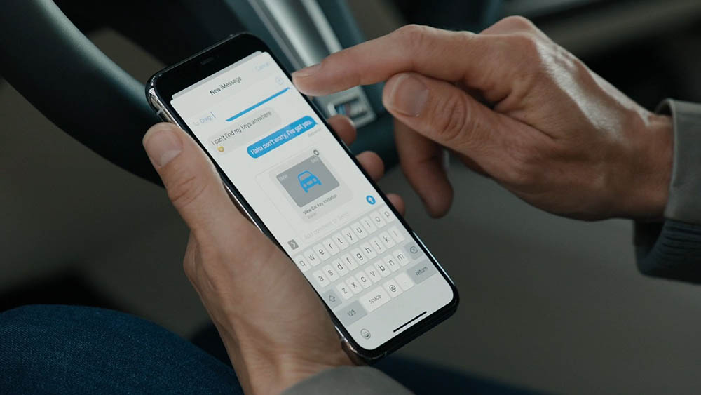 CarKey: digitale sleutel sturen via iMessage