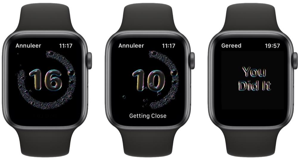 Handen wassen met Apple Watch en watchOS 7