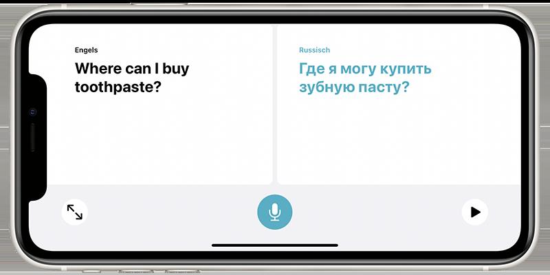 Vertalen in conversatiemodus