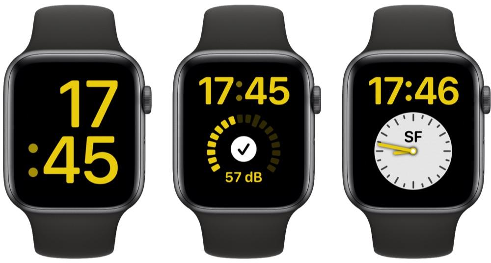 XL-wijzerplaat met grote complicatie watchOS 7