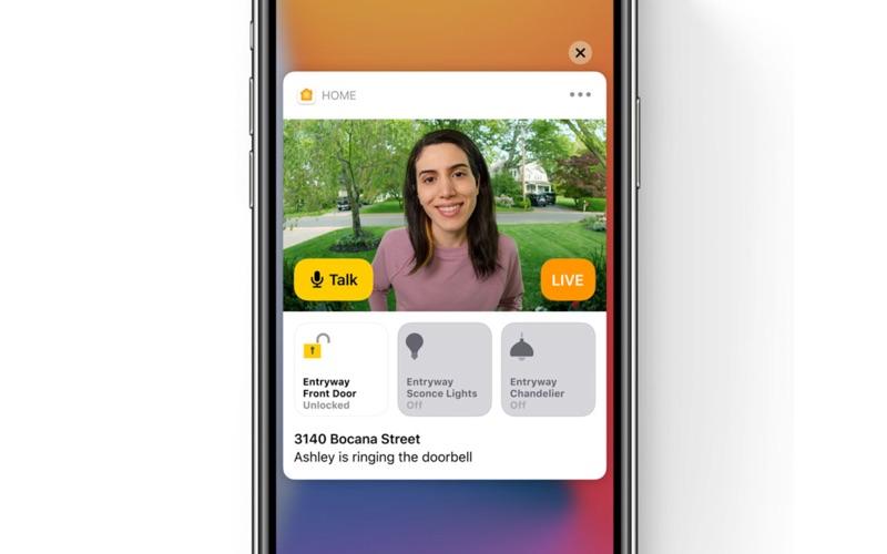 HomeKit Gezichtsherkenning in iOS 14.
